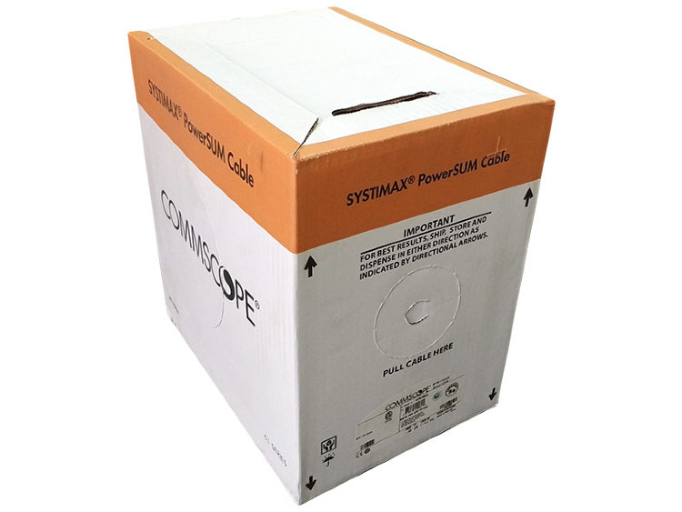 Кабель CommScope SYSTIMAX UTP Кат.5Е PowerSUM 3061 LSZH, коробка 305 м