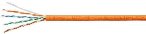 Кабель витая пара UTP 5e кат. 4 пары Cabeus UTP-4P-Cat.5e-SOLID-LSZH (305м)0,51мм (24 AWG), одножильный, LSZH  7170c
