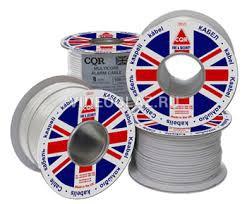 Слаботочный кабель для CQR CAB 4/100 нг-LS систем сигнализации 4*0,22 мм²(100м.)